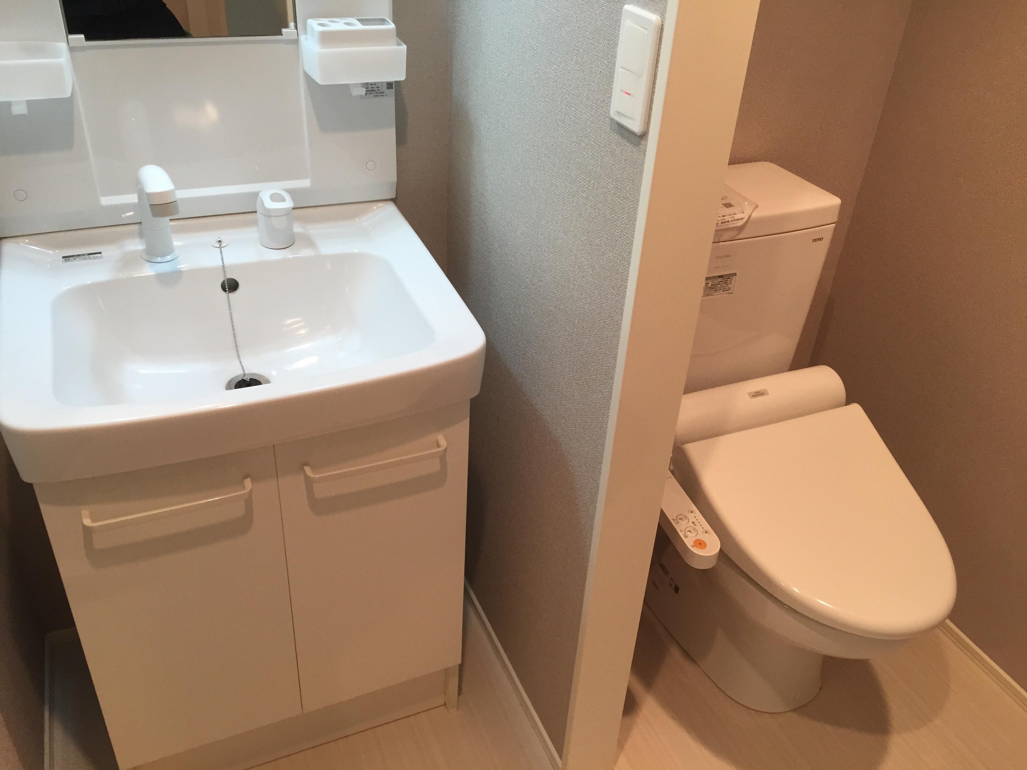 福岡の洗面所クリーニング