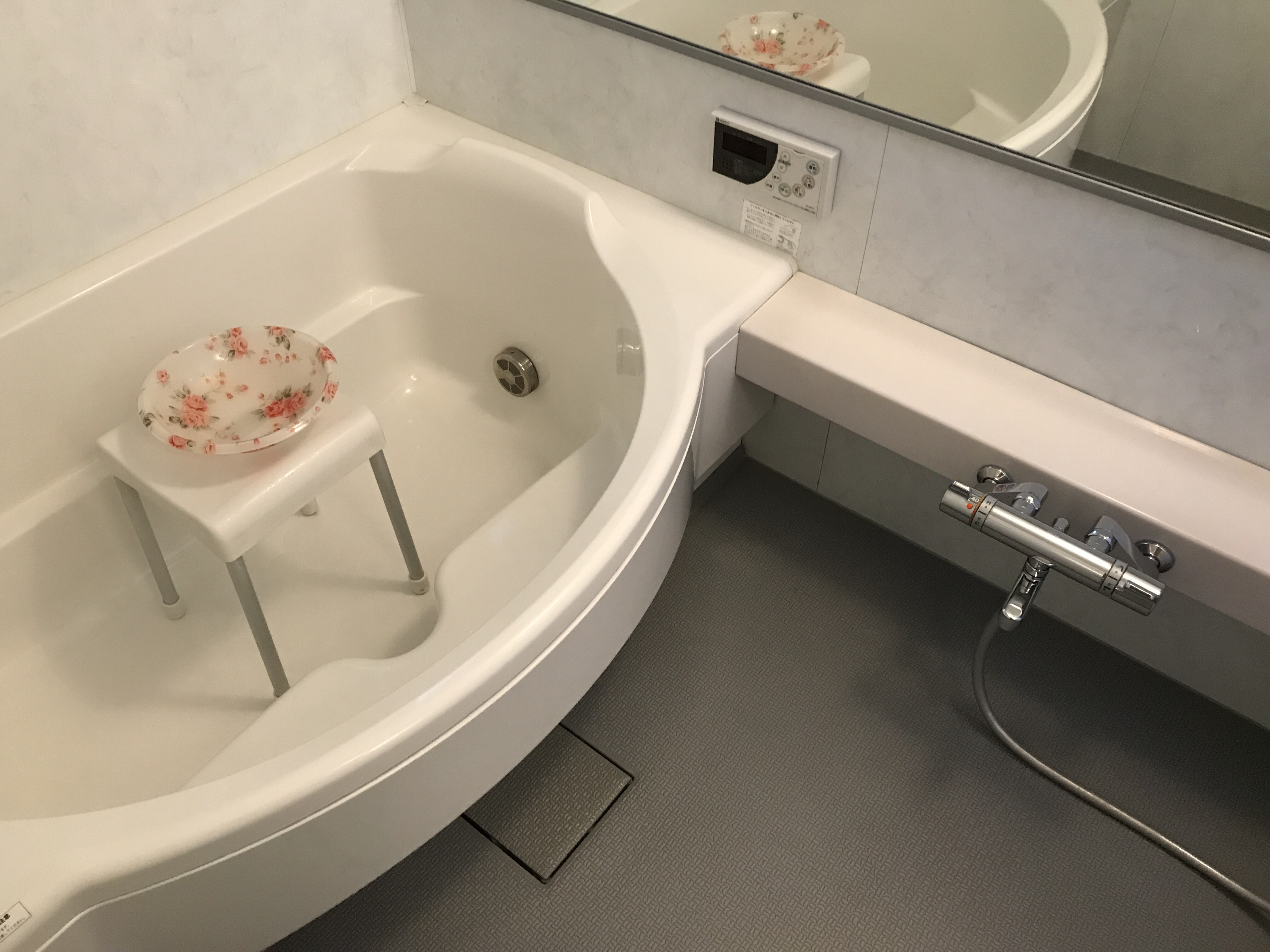 浴室クリーニング完了後