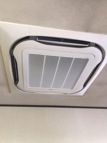 福岡県筑紫野市 業務用エアコンクリーニング