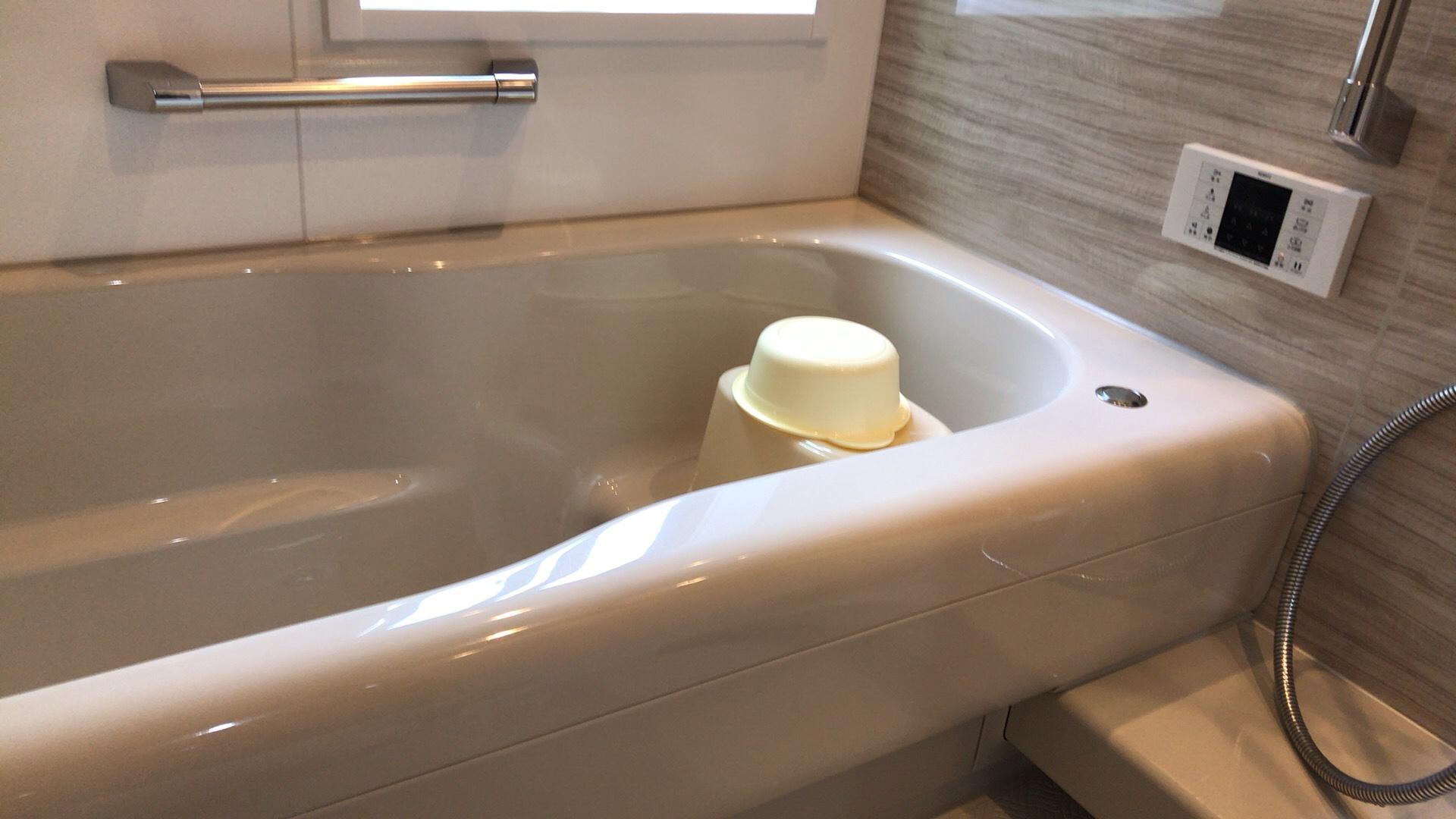 ハウスクリーニング完了後の浴槽