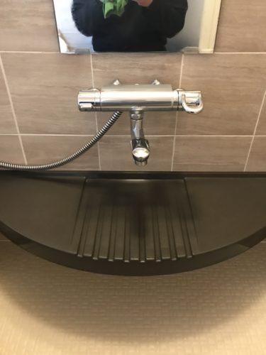 年末掃除で浴室掃除